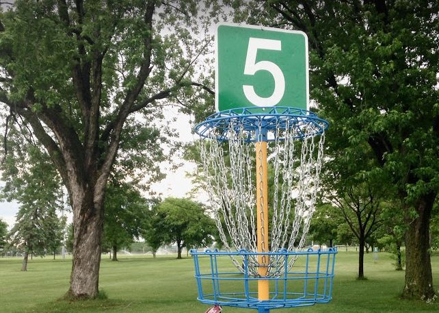 Disc Golf at Ft. Snelling #mylocalmn #discgolf
