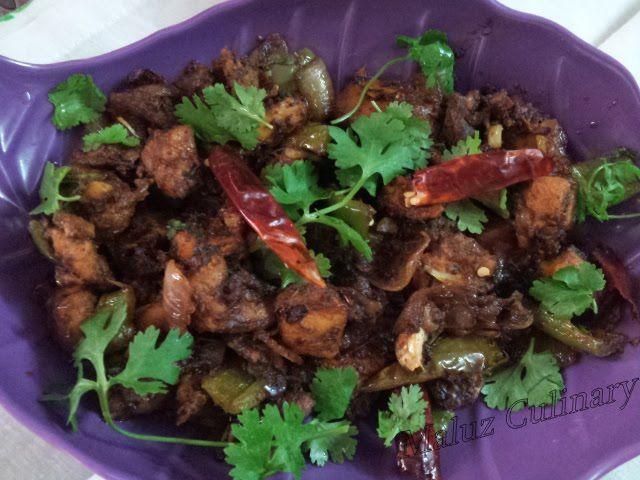 Yummy Spicy Chilly Chicken