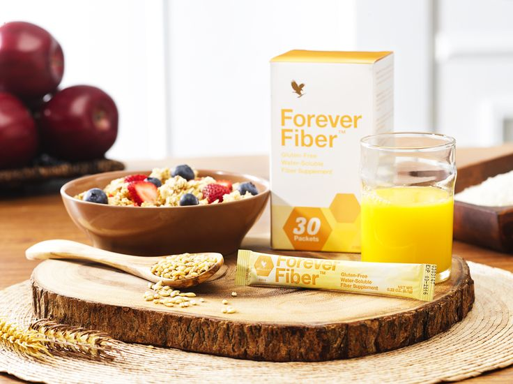 Forever Fiber™ provides 5 grams of quick-dissolving fiber in a convenient stickpack to support a healthy diet.