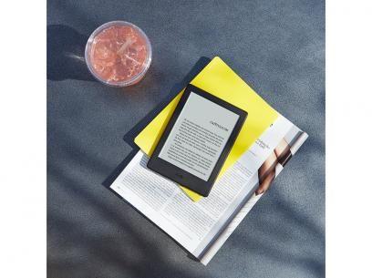 """Kindle 8ª Geração Amazon Tela 6"""" 4GB - Wi-Fi com as melhores condições você encontra no Magazine Tonyroma. Confira!"""