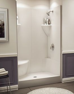 Fiberglass Shower Enclosure Kits | For the Home | Pinterest ...