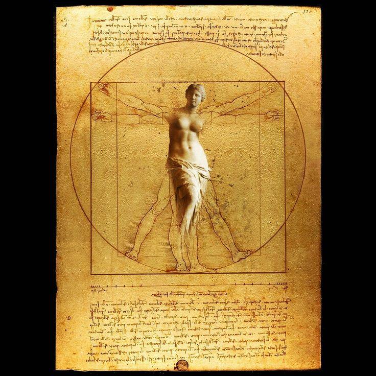 """"""" Vitruvio fitness """"  www.gigarte.com/lucianocaggianello"""