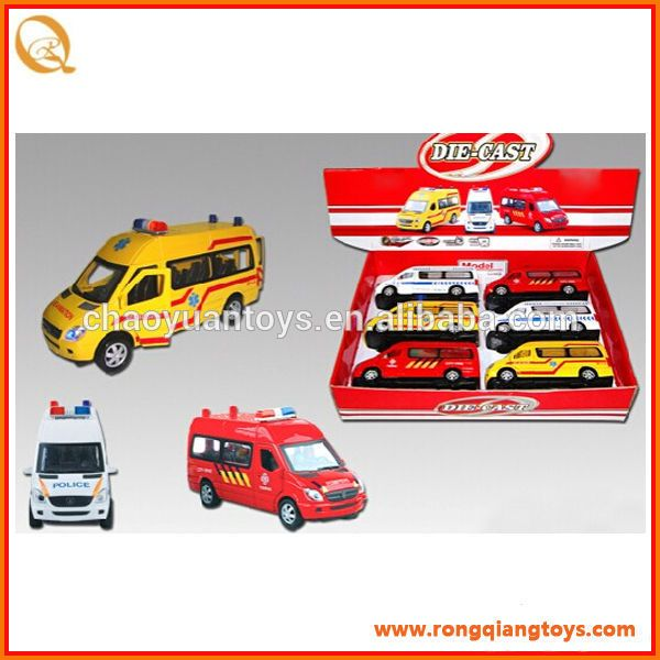 wholesale toy cars 2016 toys pull back ambulance toy car for sale metal diecast ambulance car PB0731113988