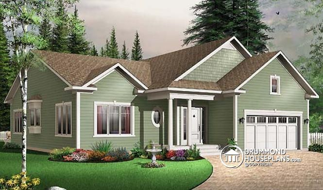 155 best small house plans affordable home plans images for Affordable garage plans