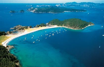 Russell Bay, Bay of Islands, New Zealand