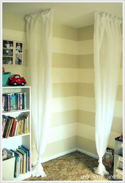 Keep Home Simple: Simple Reading Nook or prayer corner