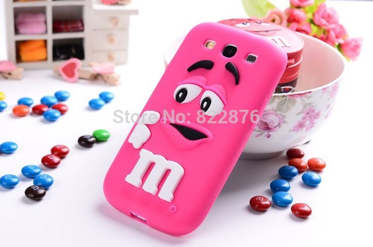 For samsung galaxy s3 case M&M'S chocolate candy rubber silicone back cases covers to samsung i9300 9300 free shipping