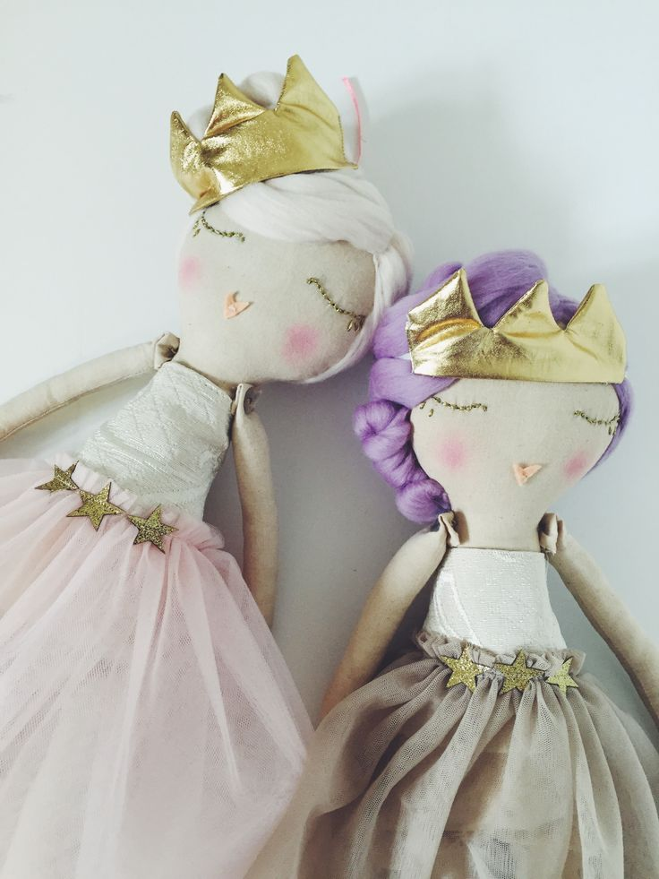 diy crafts sewing needlecraft princess rag dolls plush queen ballerina stuffed toy sleeping beauty