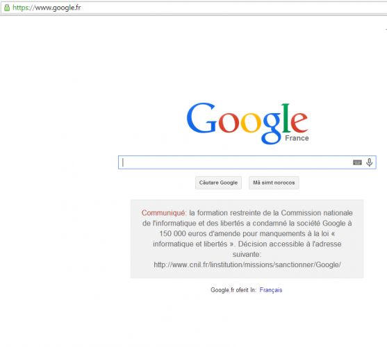 google-amenda