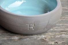 Hundenapf Keramik Aqua