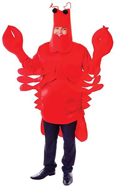 Adult Costume: Lobster. UK costumes. It's an Amazon affiliate link.