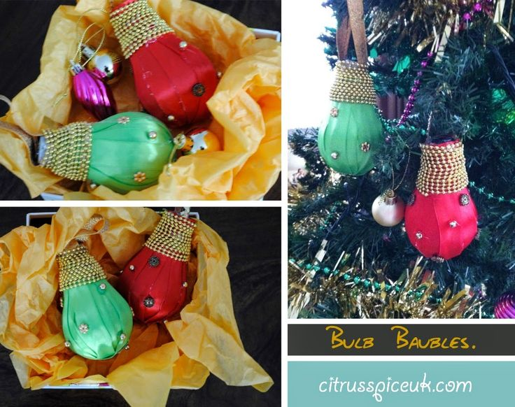 Citrus Spice and all things nice...: Bulb baubles christmas tree decorations http://www.citrusspiceuk.com/2014/12/bulb-baubles-christmas-tree-decorations.html#.VJabQAMDA