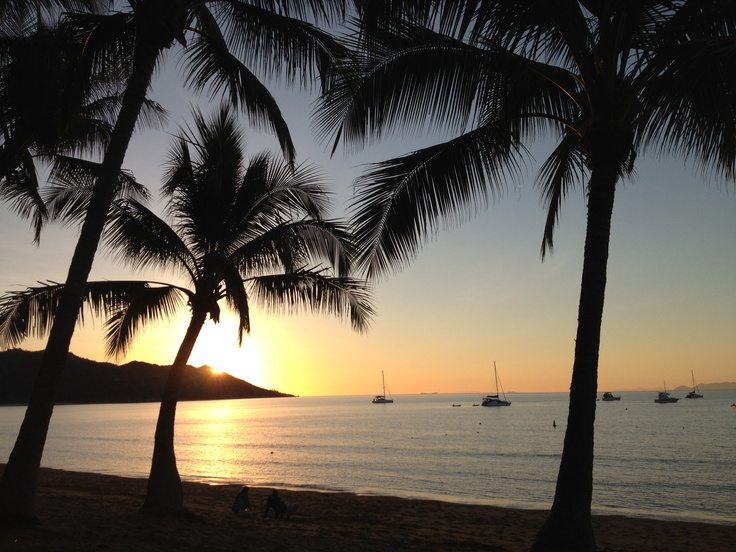 Horseshoe Bay sunset, Magnetic Island, Far North Queensland