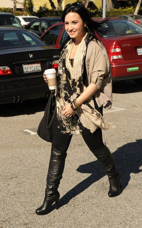 8 best images about demi lovato wearing boots on Pinterest ...