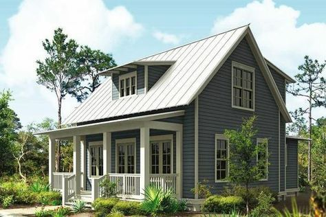 Plano de bella casa de dos plantas, tres dormitorios y 157 metros cuadrados