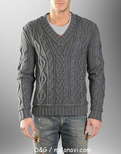 Men's pullover . . . there is a pattern that has been created for this :)