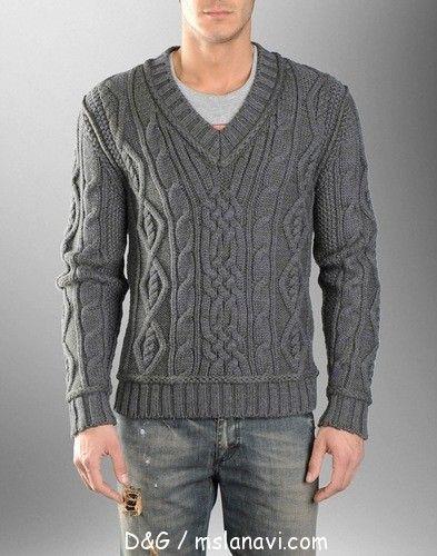 Men pullover spokes