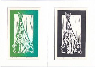 Norton's Cove Cards and Mini-Prints: Salt Fish