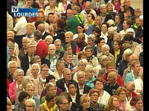 Messe internationale de Lourdes du mercredi 21 sept. 2016