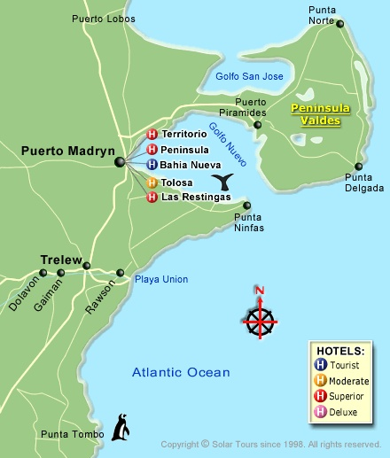 Puerto Madryn--very close to Península Valdés--a UNESCO world heritage site. In other words, this is where National Geographic goes to take their pictures.
