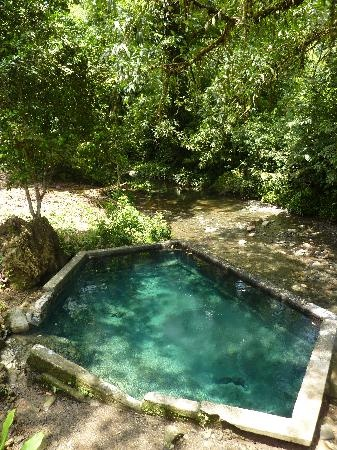 Natural hot springs, Nuquí, El Chocó, Colombia.