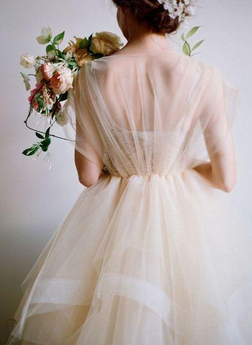 25 Best Dresses for the Fine Art Bride | Wedding Sparrow | Samuelle Couture
