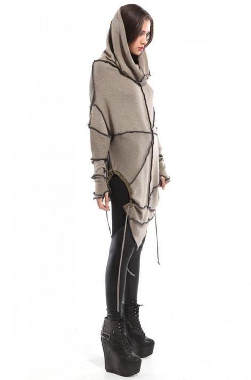 Awesome Hood. #Fashion #dystopia #Futura #future #ultramodern