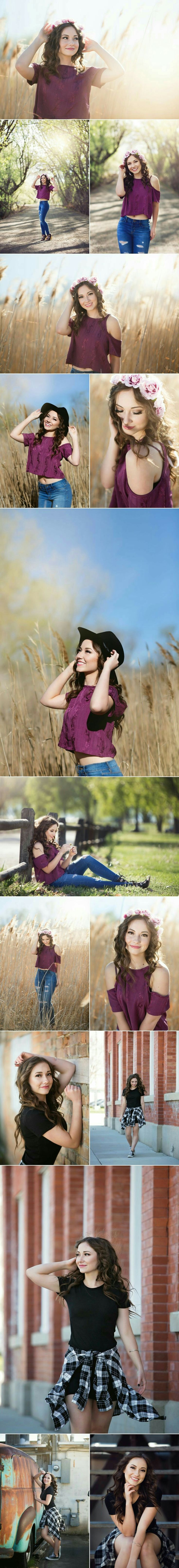 Graduation photography for her