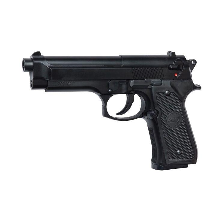 SoftGun Pistol Manuel M92FS Sort