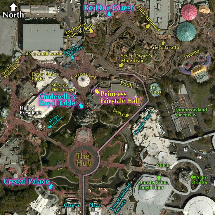 California Map Disney%0A  DMT Rope Drop Route