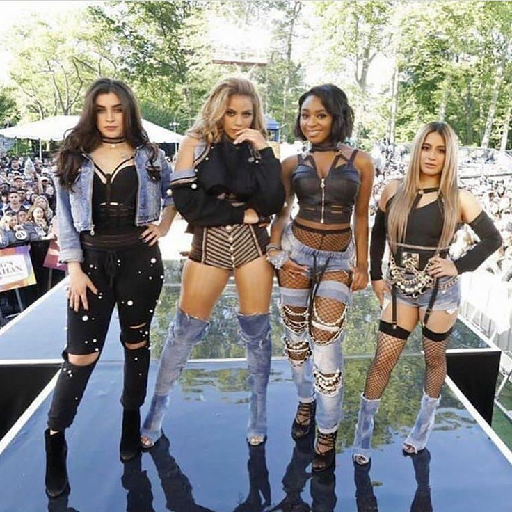 Fifth Harmony performing on GMA