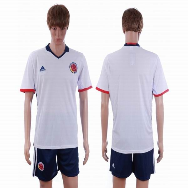 2016 european cup germany away custom black mens soccer a+ shirt. 2016 2017 colombia spain national