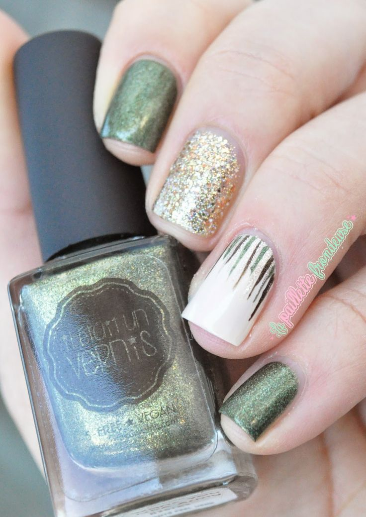Il était un vernis We want you for Npa army waterfall nails