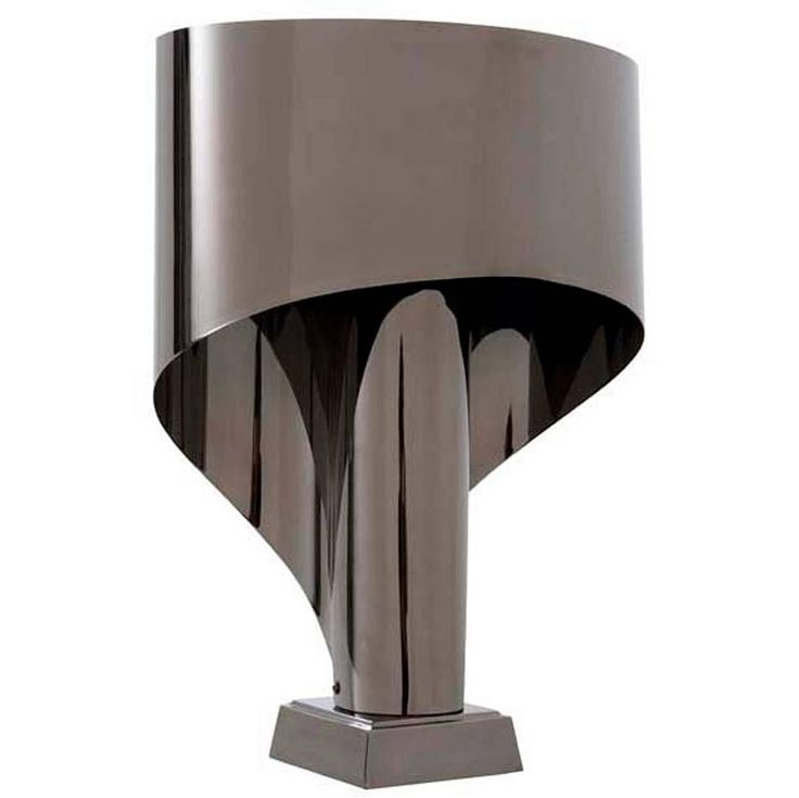Lamp Miami in Black Nickel, 2016 | From a unique collection of antique and modern table lamps at https://www.1stdibs.com/furniture/lighting/table-lamps/