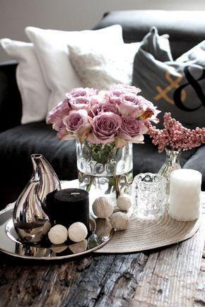 Coffee table decoration romantic cool in 2018 Living Room Decor - ebay kleinanzeigen küchen zu verschenken