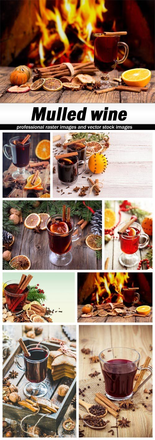 Mulled wine - 8 UHQ JPEG