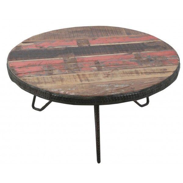 mesa centro redonda vintage | Tiendas On