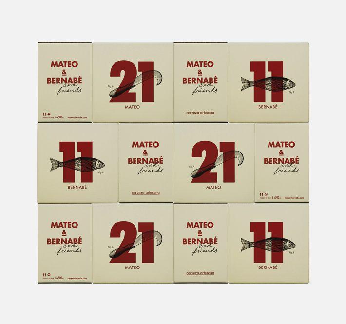 mateo and bernabe - moruba  beer packaging
