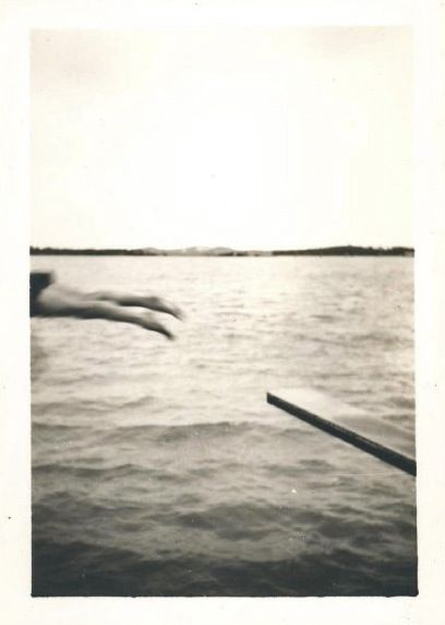 A found photo from Mark Glovsky's vernacular photography collection
