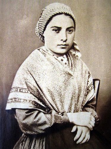 Bernadette: The village of Lourdes in the foothills of the French Pyrenees just north of the Spanish border, was the site of a series of visions in the late 19th Century by a 14-year-old girl called Bernadette Soubirous, who was led to believe that she saw the Virgin Mary