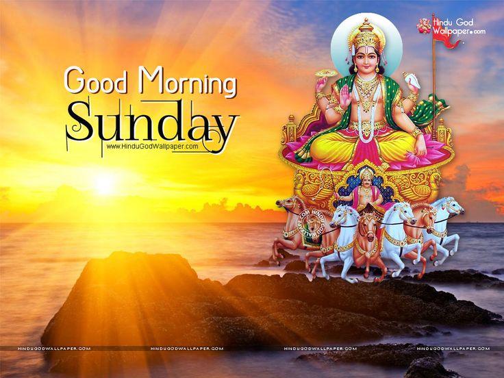 Good Morning Sunday Wallpaper