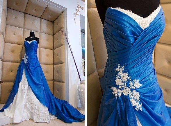 Blue Wedding Gowns: 10 Best Images About Blush Pink And Cobalt Blue Wedding On
