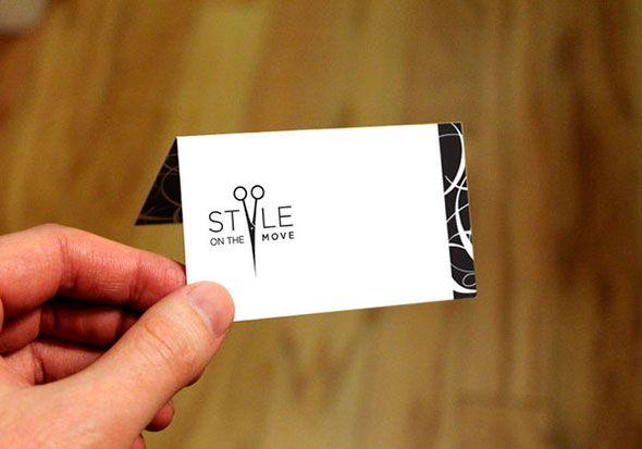 Визитные карточки стилистов, парикмахеров и визажистов
