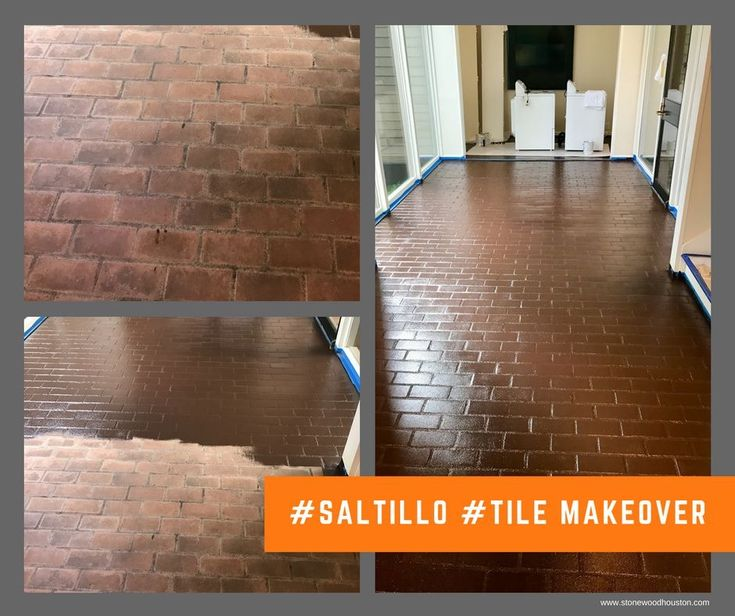 Does your #saltillo #tile need a makeover? We provide expert restoration services throughout the Houston area  Contact us today! 713-306-8643 www.stonewoodhouston.com