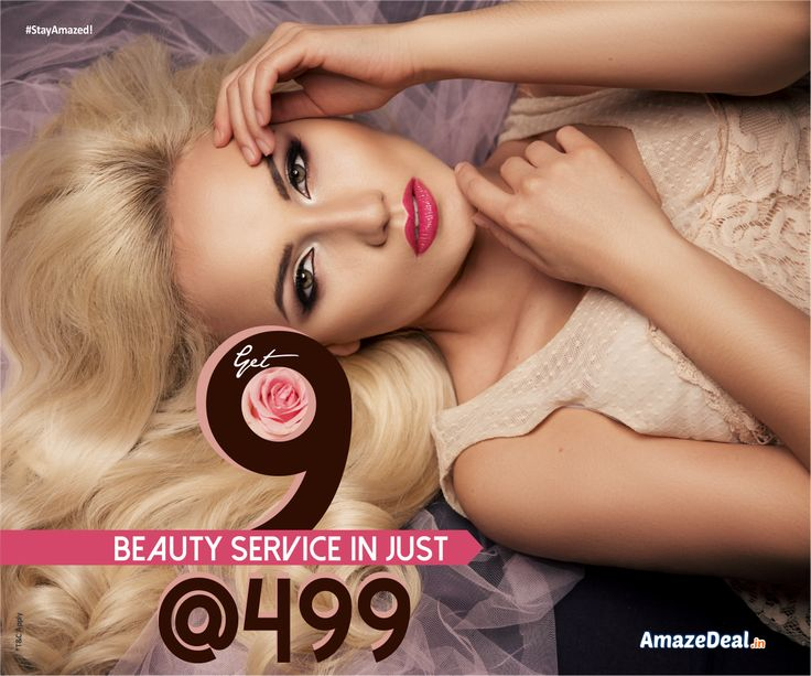 Your beauty is just 9 steps away from you, swing your desires in just Rs.499, Grab this latest offer at bit.ly/AD-Salon-Spa for a change in you!  #AmazeDeal #AmazingSavings #StayAmazed #Deals #Offers #Discounts #Salon #Spa #Chandigarh #Mohali #Panchkula
