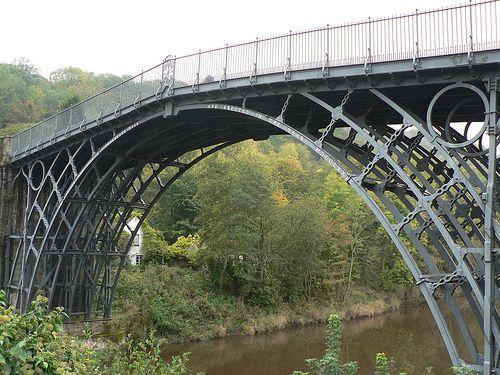 The Iron Bridge, England