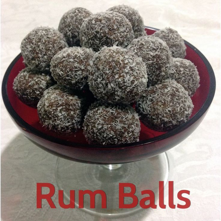 Rum Balls in the Thermomix
