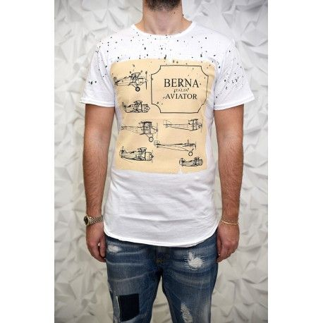 T-Shirt Uomo – Berna – Art. Berna3 - #art #AI16 #advcampaign #amazing #Berna #bernaitalia #bestoftheday #fashion #follow #man #happy #look #love #lookbook #model #makeup #ootd #outfit #picoftheday #photooftheday #style #styles #top #winter #autumn #fw16