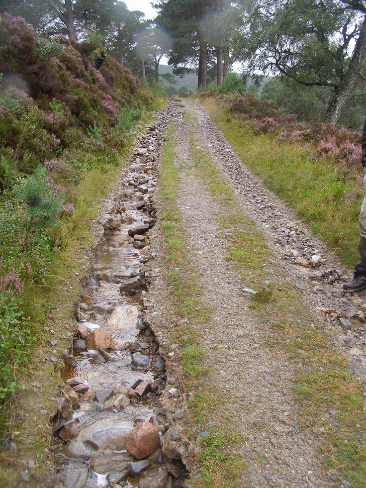Footpaths at Mar Lodge Estate, Scotland, have been badly damaged by storms and flooding #NTSAppeal