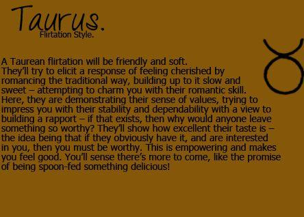 dating a taurus man slow